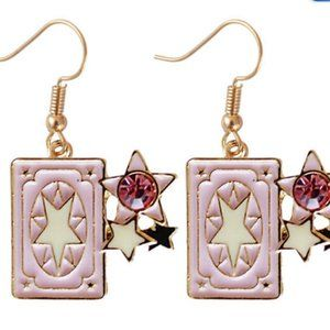 aretes cartas sakura card captor